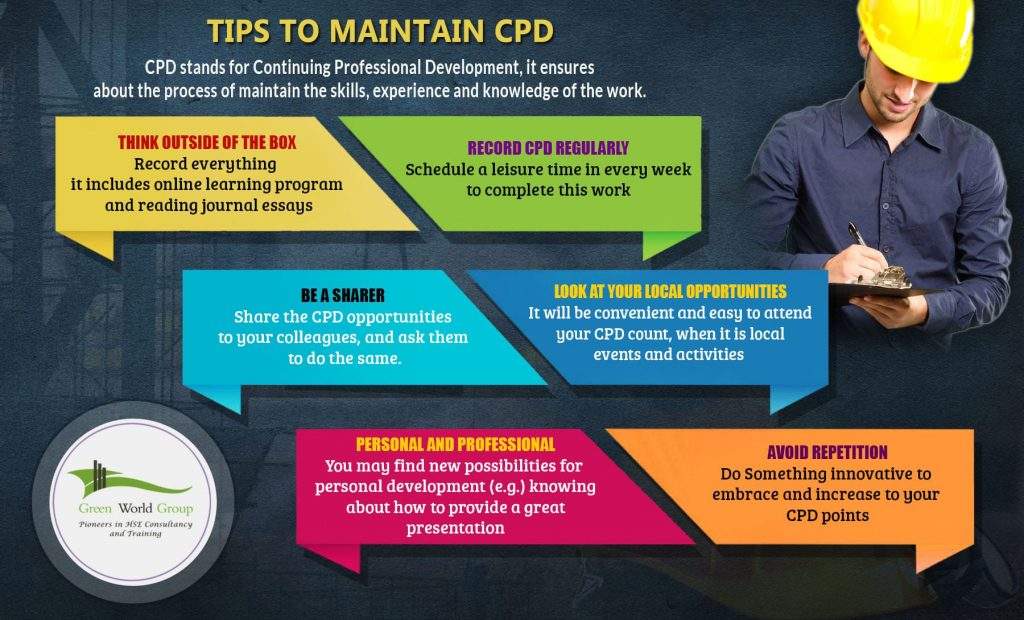 TIPS TO MAINTAIN CPD